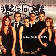cd rbd nosso amor edio brasil