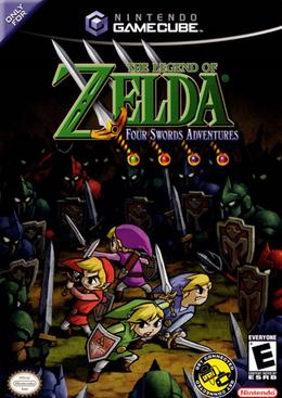 the legend of zelda four swords adventures wikipédia a