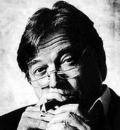 """Vinicius de Moraes, principal letrista de canções da bossa nova a partir de """"Chega de Saudade"""", composição feita com Tom Jobim em 1958 e que consagrou o estilo."""