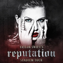 Image result for Taylor Swift, Reputation Tour