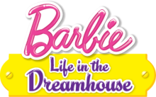 logo da barbie life in the dreawhouse