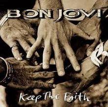 bon jovi keep the faith cd