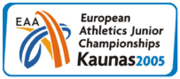 European Athletics Junior 2005 logo.png