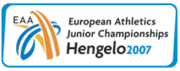 European Athletics Junior 2007 logo.png