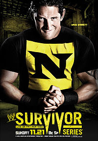 cartaz do evento Survivor Series (2010).