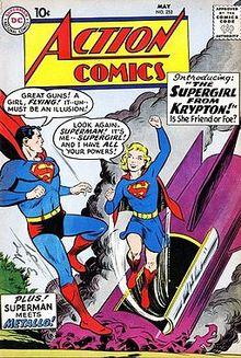 Supergirl – Wikipédia, a enciclopédia livre