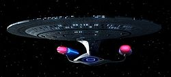 A USS Enterprise-D