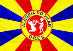 Bandeira do GRES Alegria do Vilar.png