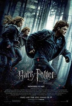 Harry Potter e as Relíquias da Morte: Parte 1 é um dos Top Filmes da Netflix