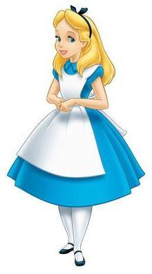 Alice Personagem Da Disney Wikipédia A Enciclopédia Livre