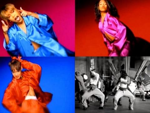 Capturas do vídeo musical de Creep
