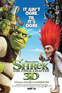 Shrek para Sempre é um dos Top Filmes da Netflix