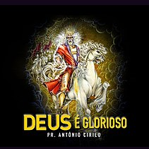 Capa do álbum de estúdio Deus é Glorioso.