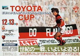 4017520255 Pôster do Mundial de Clubes com Zico em destaque.
