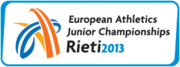 European Athletics Junior 2013 logo.png
