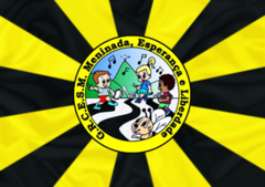 Bandeira do GRCESM Mel do Futuro.png