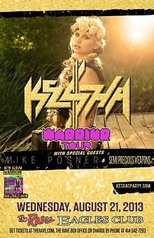 Kesha Rainbow Tour Chicago