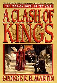 A Clash Of Kings Wikipedia A Enciclopedia Livre