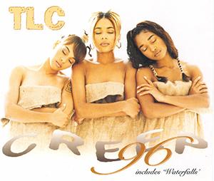 """Capa do relançamento """"Creep '96"""", ocorrido em 1996 na Europa e Reino Unido"""