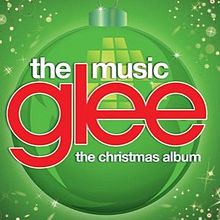 Capa do CD Glee Cast – The Christmas Album - Vol. 4