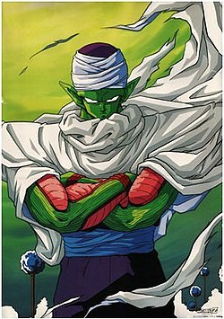Imagem de Piccolo feita por Akira Toriyama