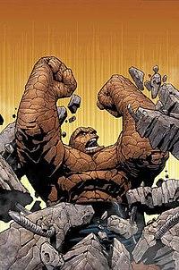 Coisa Marvel Comics Wikipedia A Enciclopedia Livre