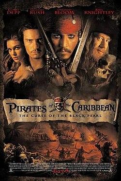 Piratas do Caribe: A Maldição do Pérola Negra é um dos melhores filmes da Netflix