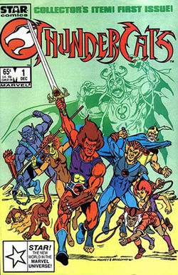 Thundercats Comic on Thundercats  Marvel Comics  1985 Jpg