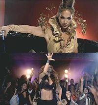 Na Imagem Superior, Lopez é Vista Retratando A Rainha Da Festa Vestida De  Ouro Régio E Supervisionando Os Seus Subordinados. Em Baixo, é Uma  Homenagem Aos ...