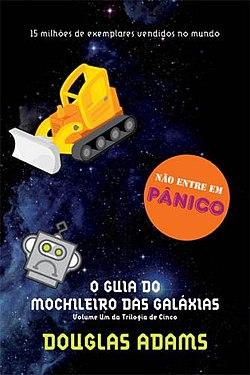 Resultado de imagem para Douglas Adams O Guia do Mochileiro das Galáxias