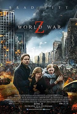 Guerra Mundial Z é um dos Top Filmes da Netflix