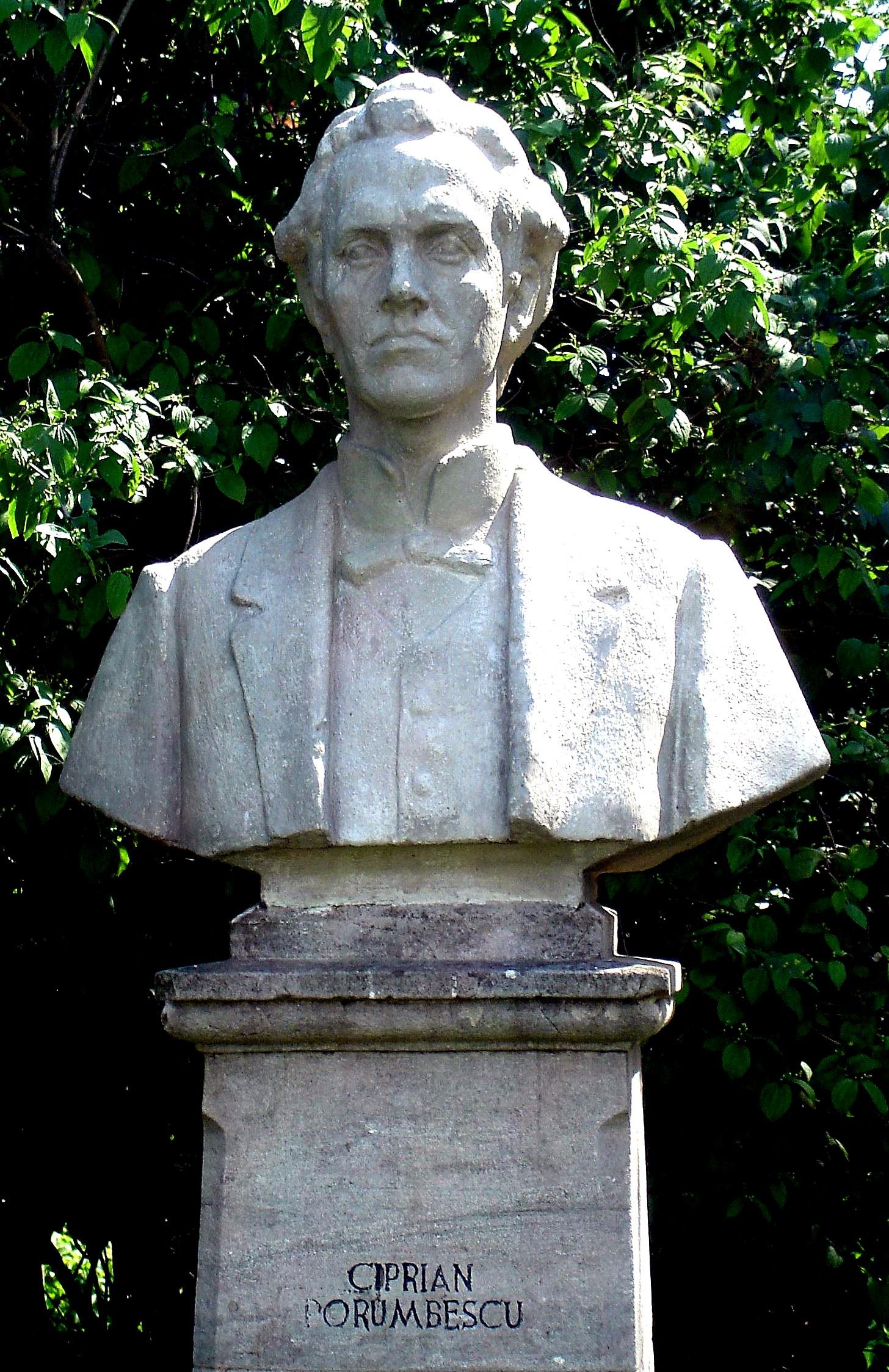busto di Ciprian Porumbescu