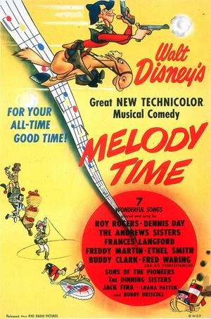 Risultati immagini per MELODY TIME ( 1948 ) MOVIE GIF POSTER