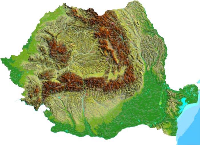 Relieful Romaniei Wikipedia