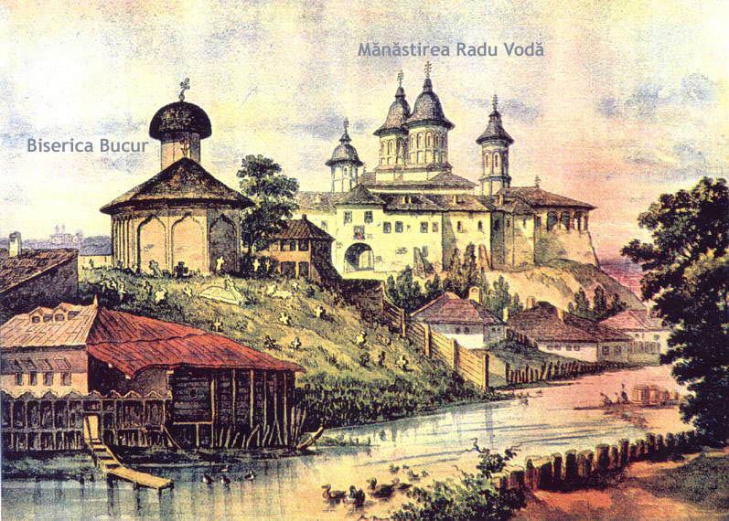 Fișier:Biserica Bucur si Manastirea Mircea Voda.jpg