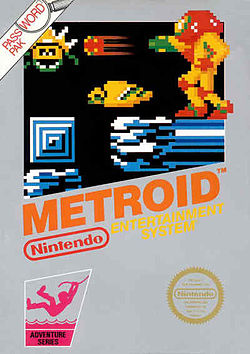 Metroid box art