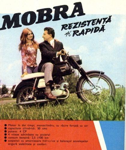 Les motos roumaines MOBRA