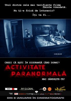 activitate paranormal� wikipedia