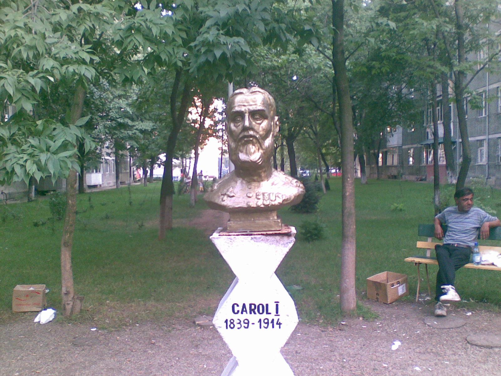 Fişier:Bust Carol I in Slatina.jpg