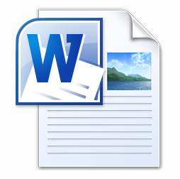 Word doc icon png