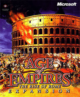 Coperta Age of Empires: The Rise of Rome