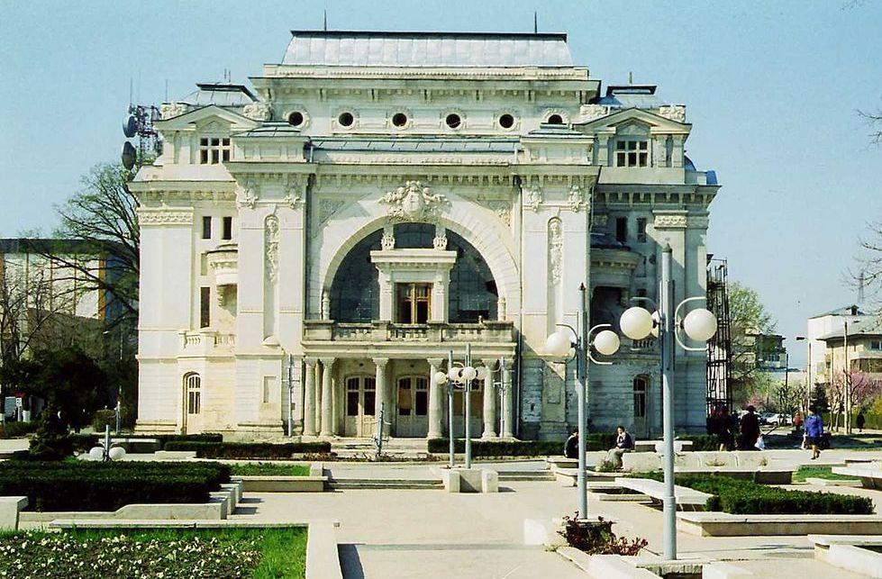 """Image result for Teatrului """"Mr. Gh. Pastia"""" din Focșani."""