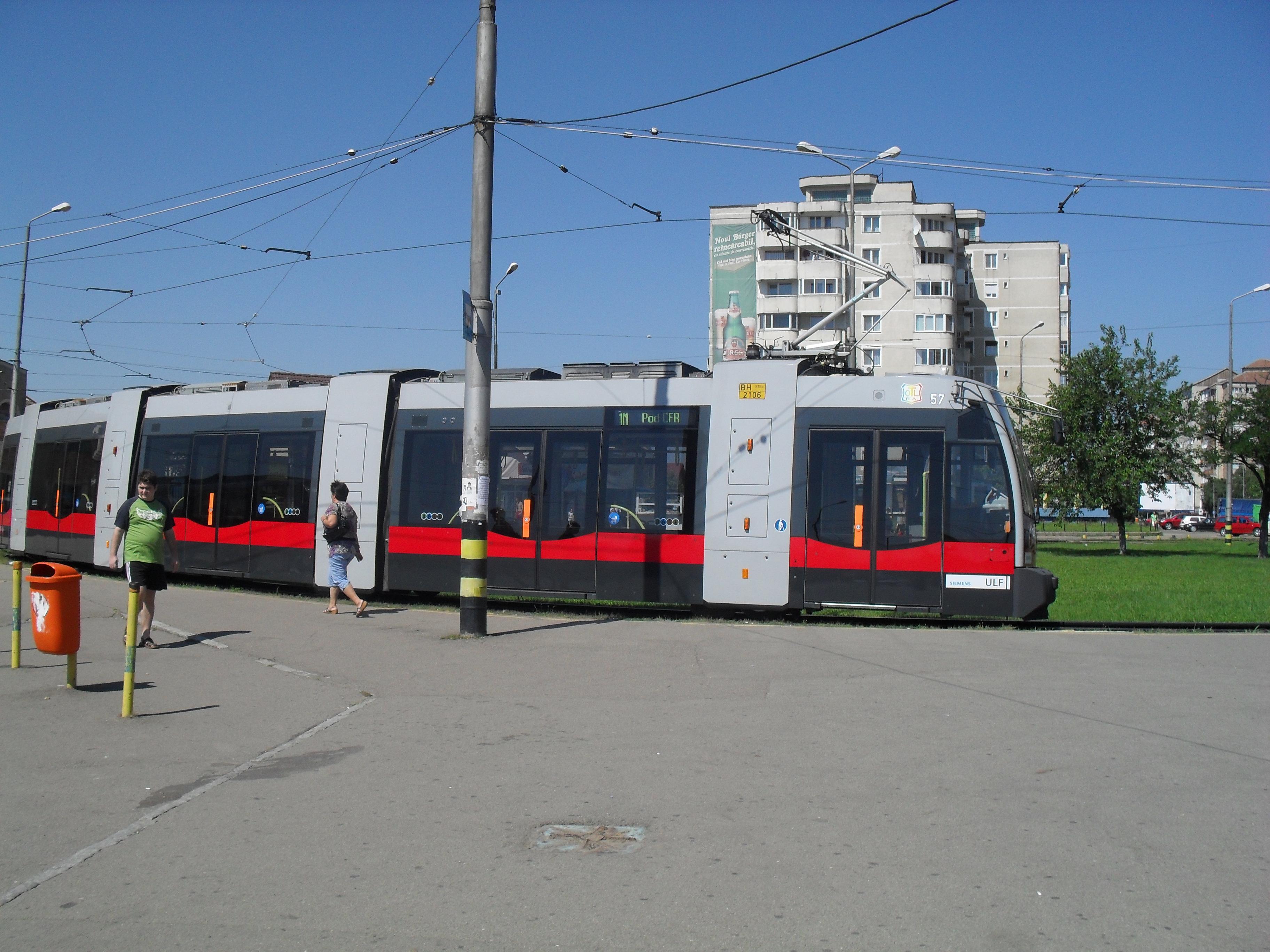 11 Martie Wikipedia: Fișier:Tramvai Siemens ULF.JPG