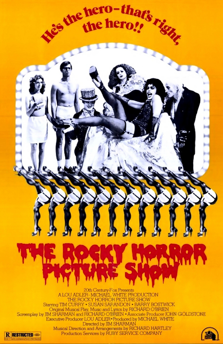 horror show at the cineplex It's time to put on your fishnets and whack on the eyeliner because the rocky horror picture show is coming to the open air cinema at this year's best of british festival on friday, october 12.