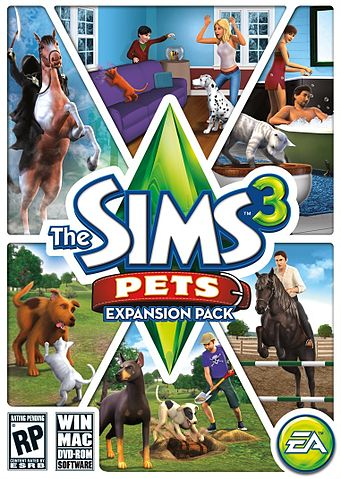 Sims  Cats And Dogs Pets In All Worlds Mod