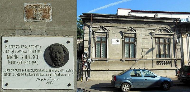 Fișier:Casa Marin Sorescu-Bucuresti.JPG
