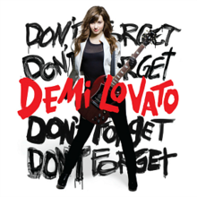 Demi Lovato - Don't Forget cover.png