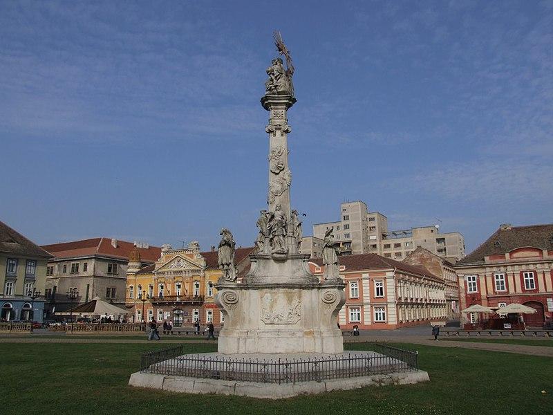 Fișier:Statuia Sfânta Treime Timişoara Piaţa Unirii.jpg