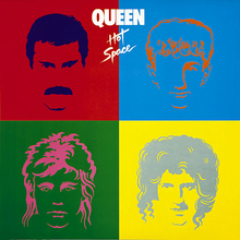 Coperta discului Hot Space