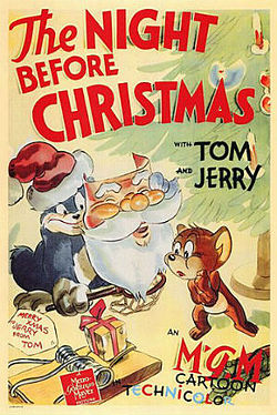 The Night Before Xmas Tom and Jerry Poster.jpg